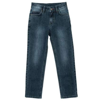 Брюки текстильные джинсовые для мальчиков(98) , 361113 серый EAN 4690244740990