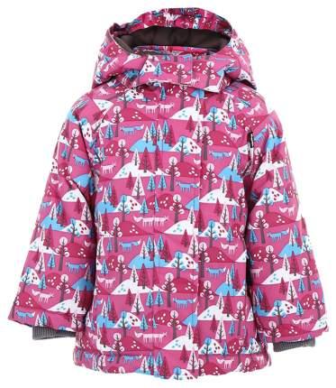 Куртка детская Lappi Kids HALLA 2909 р.80 фуксия