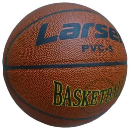 Баскетбольный мяч Larsen PVC5 №5 brown