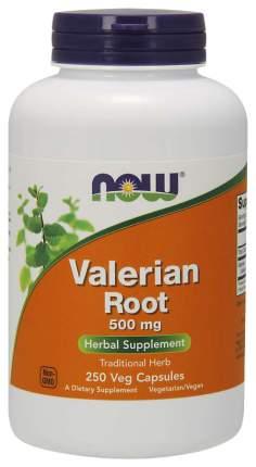 Для нервной системы NOW Valerian Root 500 мг 250 капсул