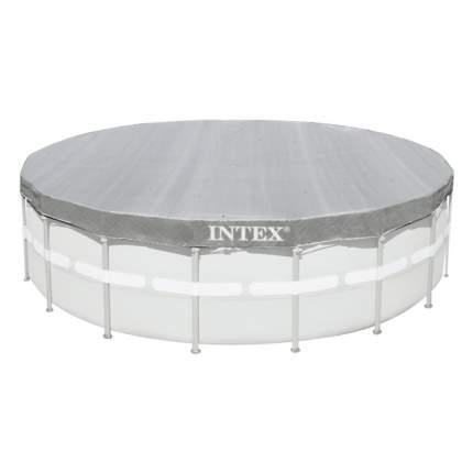 Тент для каркасных бассейнов  intex deluxe, диаметр 488 см, арт, 28040, Интекс