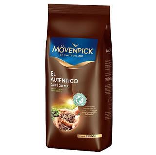 Кофе  в зернах Movenpick el autentico caffe crema 1000 г