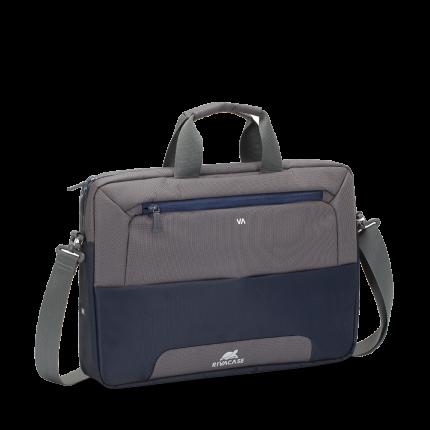 "Сумка для ноутбука 15"" Rivacase 7737 Blue/Grey"