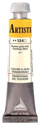 Масляная краска Maimeri Artisti M0102124 гуммигут имитация 20 мл