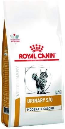 Сухой корм для кошек ROYAL CANIN Urinary S/O Moderate Calorie, диетический при МКБ, 7кг