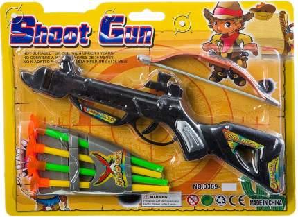 Детское оружие  Арбалет-пистолет со стрелами на присосках