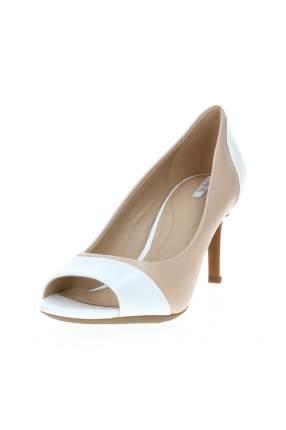 Туфли женские GEOX D621TD038KFC1391 белые 36