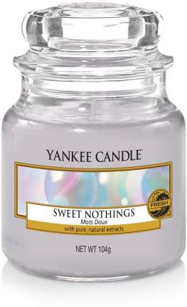 Свеча Yankee Candle Sweet Nothings Small Jar Candle 104 г