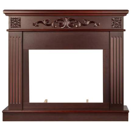 Деревянный портал для камина Electrolux Noce Classic Темный дуб