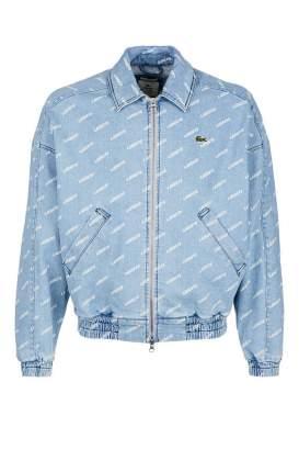 Куртка джинсовая мужская Lacoste синяя 46