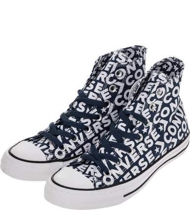 Кеды женские Converse 163952_W синие/фиолетовые/белые/черные 37