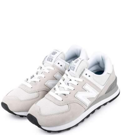 Женские кроссовки New Balance WL574EW/B серые/белые 35.5