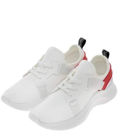 Кроссовки женские Calvin Klein Jeans E4485_WRY белые/черные/красные 40