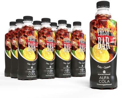 Газированный напиток  Fresh Bar Альфа Кола 12 шт по 480 мл
