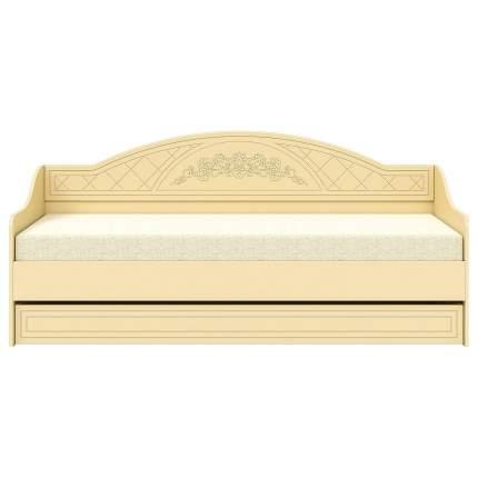 Кровать односпальная Компасс-мебель Соня СО-25 80х200 см, бежевый