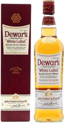 Виски  Dewar's White Label gift box 0.7 л