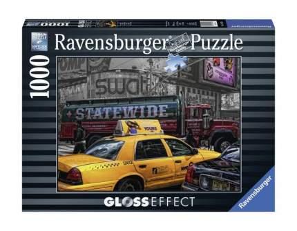 Пазл ravensburger «желтое такси», с глянцевым эффектом 1000 элем.