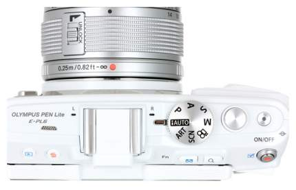 Фотоаппарат системный Olympus Pen E-PL6 14-42 Kit White