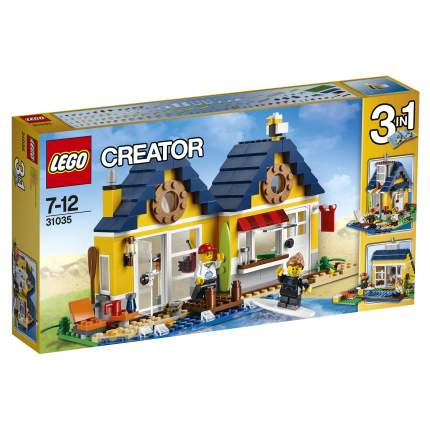 Конструктор LEGO Creator Домик на пляже (31035)