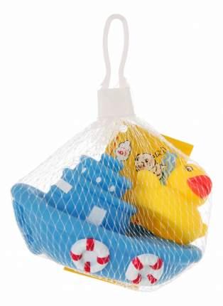 """Набор игрушек для ванны """"лодка с утенком"""", 2 шт."""