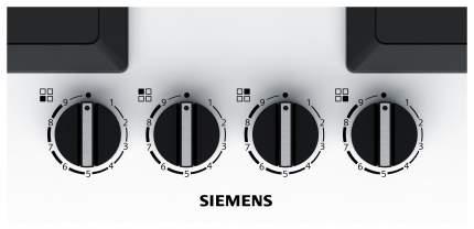 Встраиваемая варочная панель газовая Siemens EP6A2PB20 White