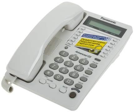 Проводной телефон Panasonic KX-TS2362RUW белый