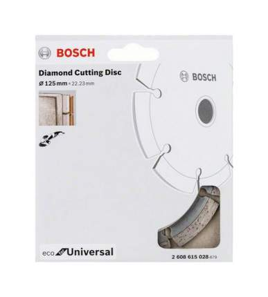 Диск отрезной алмазный Bosch ECO Universal2608615028