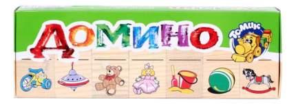 Семейная настольная игра Томик Домино Игрушки