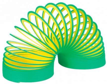 Шагающая пружинка Slinky Неон 2-х цветная, цвет в ассортименте
