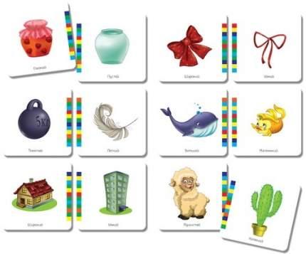 Развивающая игра Vladi Toys Клуб дошкольников Умнички: Противоположности (VT1306-04)