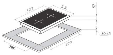 Встраиваемая варочная панель электрическая MAUNFELD MVCE31.2HL.SZ-WH White