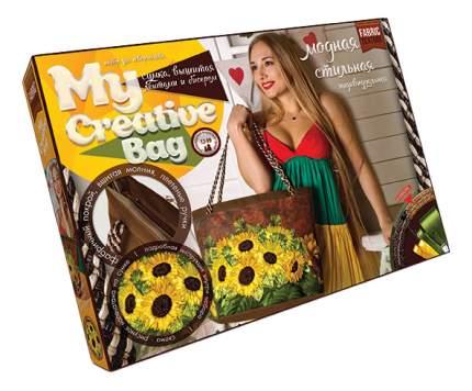 Вышивка для детей Danko Toys My creative bag. Подсолнухи