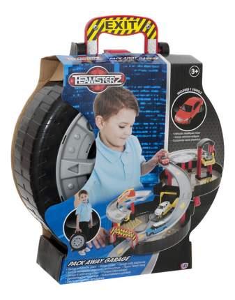 Гараж игрушечный Halsall Гараж двухуровневый в чемоданчике