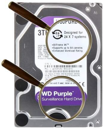 Внутренний жесткий диск Western Digital Purple 3TB (WD30PURZ)