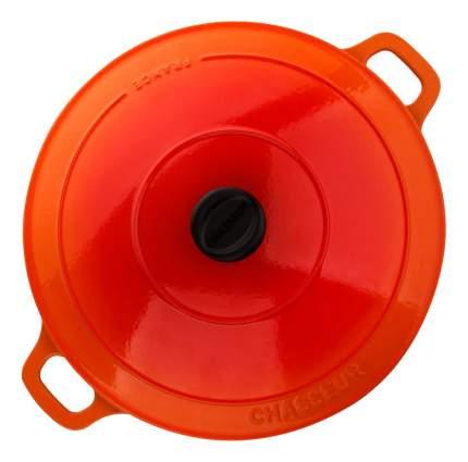 Кастрюля для запекания CHASSEUR Чугунная 6,3 л оранжевый