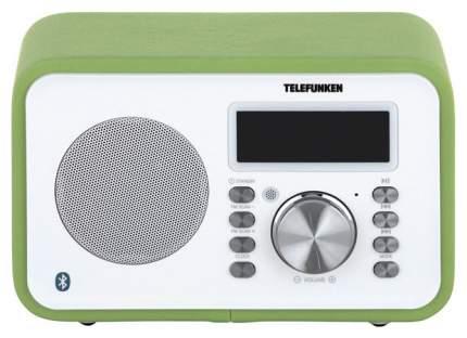 Радио-часы Telefunken TF-1581UB Зеленый