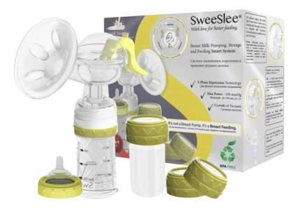 Молокоотсос ручной с системой кормления и хранения грудного молока SweeSlee