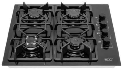 Встраиваемая варочная панель газовая RICCI RGN-670 BL Black