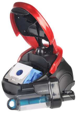 Пылесос Samsung  VC20M257AWR/EV Red/Black