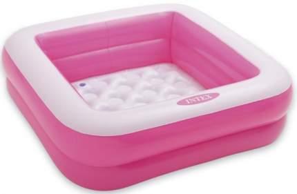 Надувной бассейн с надувным полом Intex 57100 85х85х23 см в ассортименте