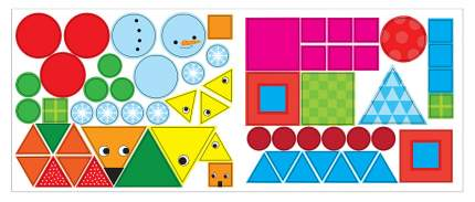 Развивающая книжка с наклейками Мозаика-Синтез «Я могу сам: Форма»