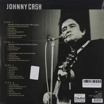 Виниловая пластинка Johnny Cash SINGS HANK WILLIAMS, GEORGE JONES CLASSIC COUNTRY COVERS