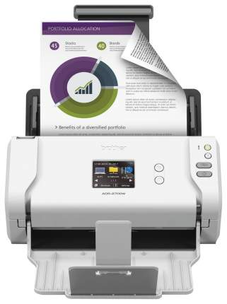 Сканер Brother ADS-2700 White/Black