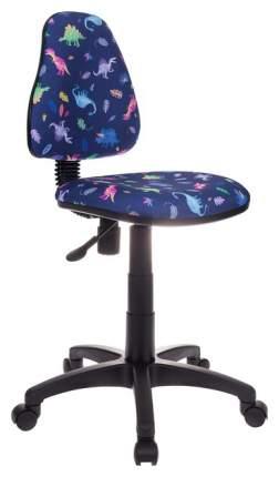 Детское компьютерное кресло Бюрократ KD-4/DINO-BL Синий