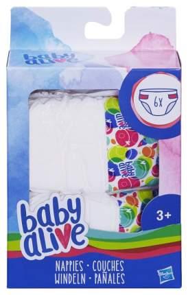 Подгузники для кукол Baby Alive C2723EU4