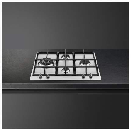 Встраиваемая варочная панель газовая Smeg PX364L Silver