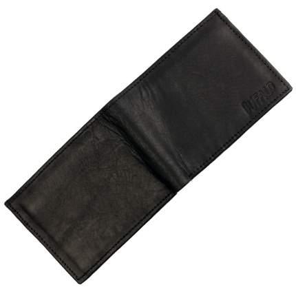 Черный кошелек из нубука Bufalo WLN-15