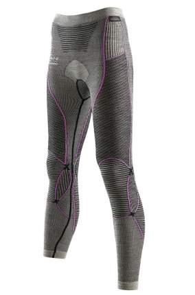 Кальсоны X-Bionic Apani Merino 2019 женские серые/розовые, L/XL