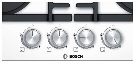 Встраиваемая варочная панель газовая Bosch PNP6B2O96R White