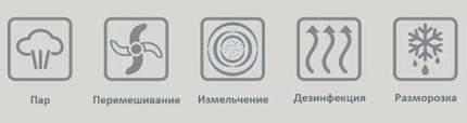 "Блендер-пароварка Funkids ""SteamCooker BFP-1800M"" White/Grey"